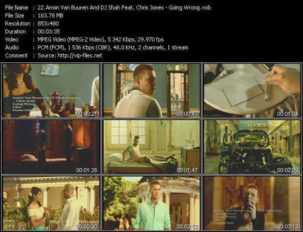 Armin Van Buuren And Dj Shah Feat. Chris Jones video screenshot