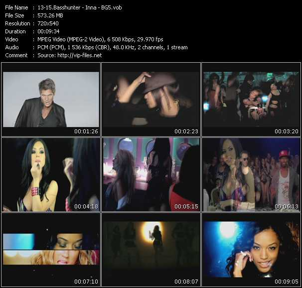 Basshunter - Inna - Beach Girl5 (BG5) video screenshot