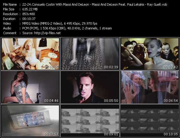 Consuelo Costin With Massi And DeLeon - Massi And DeLeon Feat. Paul Lekakis - Ray Guell video screenshot