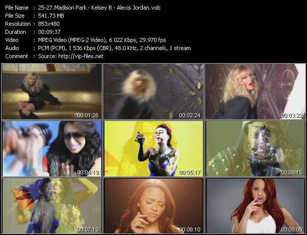 Madison Park - Kelsey B - Alexis Jordan video screenshot