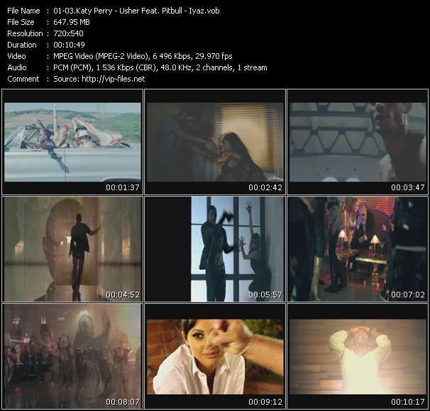 Katy Perry - Usher Feat. Pitbull - Iyaz video screenshot