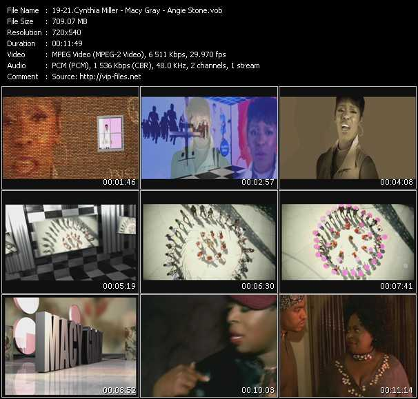 Cynthia Miller - Macy Gray - Angie Stone video screenshot