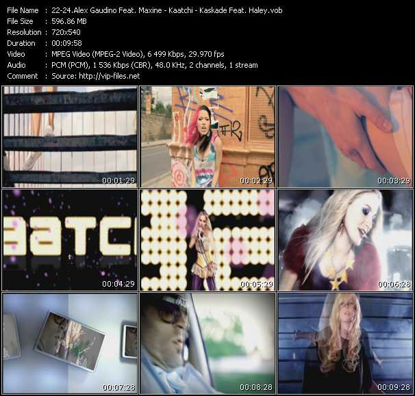 Alex Gaudino Feat. Maxine - Kaatchi - Kaskade Feat. Haley video screenshot