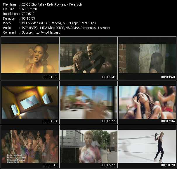 Shontelle - Kelly Rowland - Kelis video screenshot
