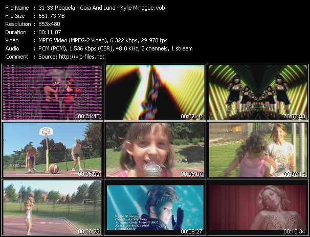 Raquela - Gaia And Luna - Kylie Minogue video screenshot