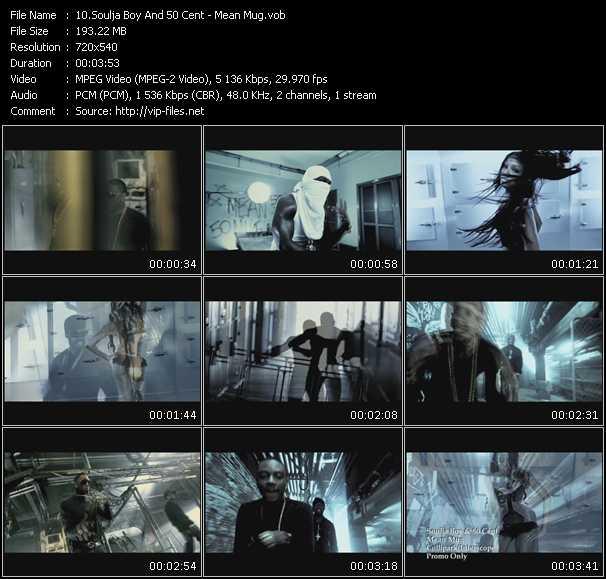 Soulja Boy Tell 'Em And 50 Cent video screenshot