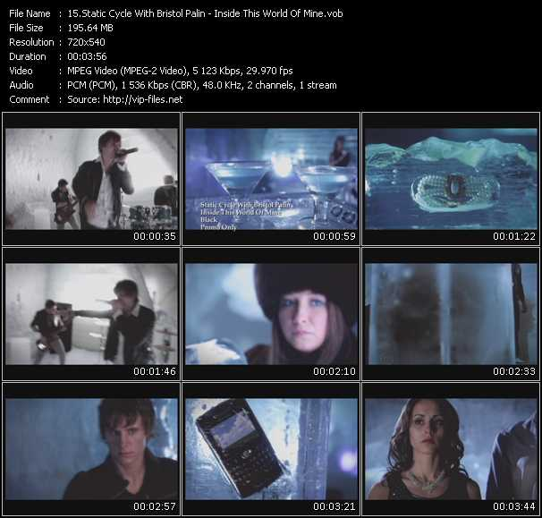 Static Cycle With Bristol Palin video screenshot