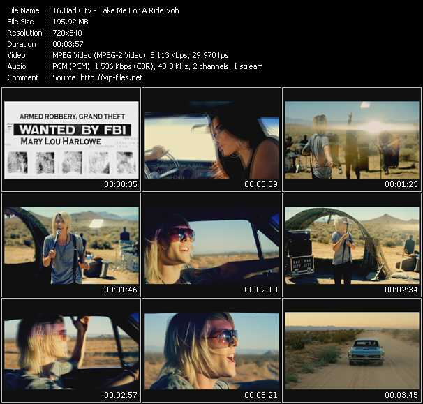 Bad City video screenshot