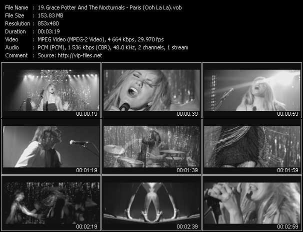 Grace Potter And The Nocturnals video screenshot