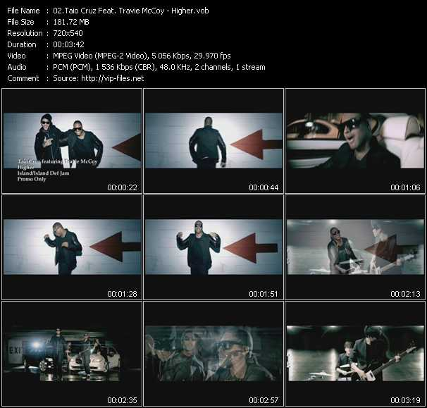 Taio Cruz Feat. Travis McCoy video screenshot