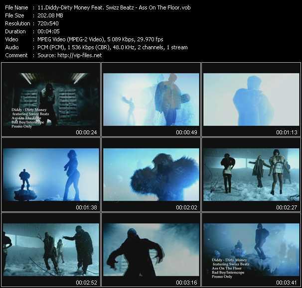 Diddy - Dirty Money Feat. Swizz Beatz video screenshot