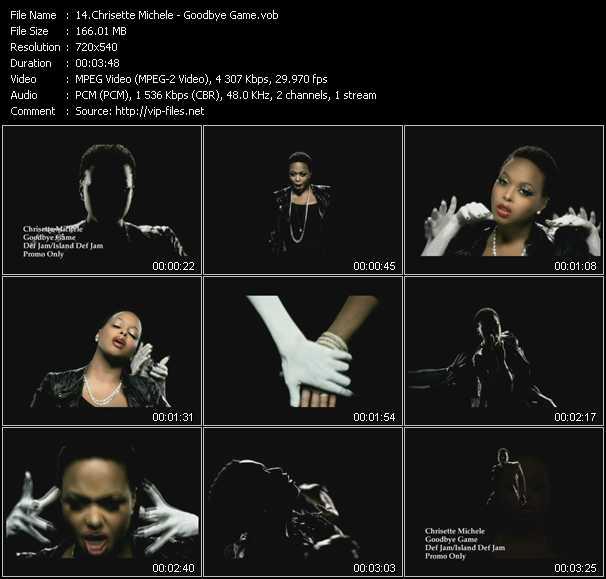 Chrisette Michele video screenshot