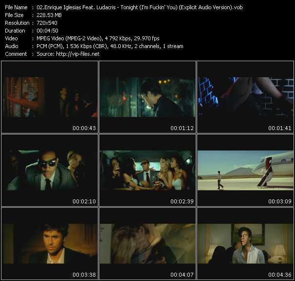 Enrique Iglesias Feat. Ludacris video screenshot