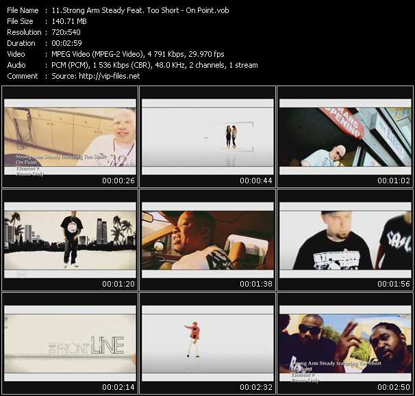 Strong Arm Steady Feat. Too Short video screenshot