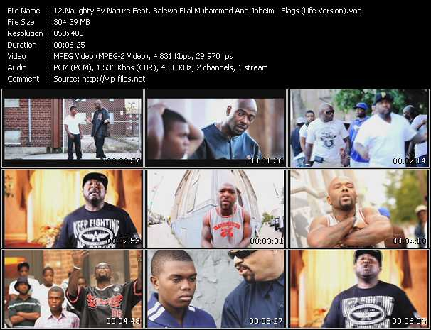 Naughty By Nature Feat. Balewa Bilal Muhammad And Jaheim With Special Guests Ice-T And Mark Jeffries video screenshot