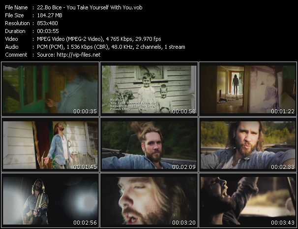 Bo Bice video screenshot