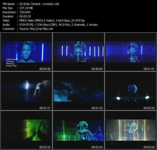 Emily Osment video screenshot