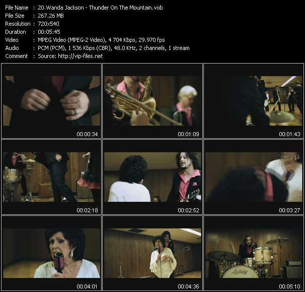 Wanda Jackson video screenshot