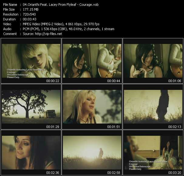 Orianthi Feat. Lacey From Flyleaf video screenshot