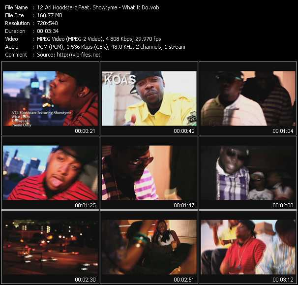 Atl Hoodstarz Feat. Showtyme video screenshot