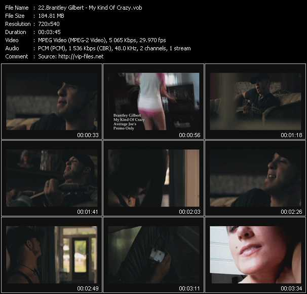 Brantley Gilbert video screenshot