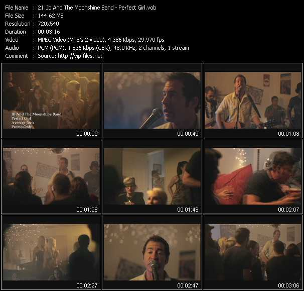 Jb And The Moonshine Band video screenshot