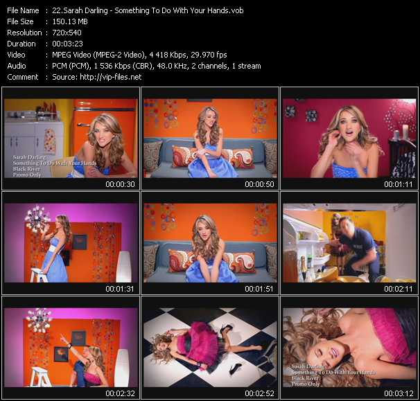 Sarah Darling video screenshot