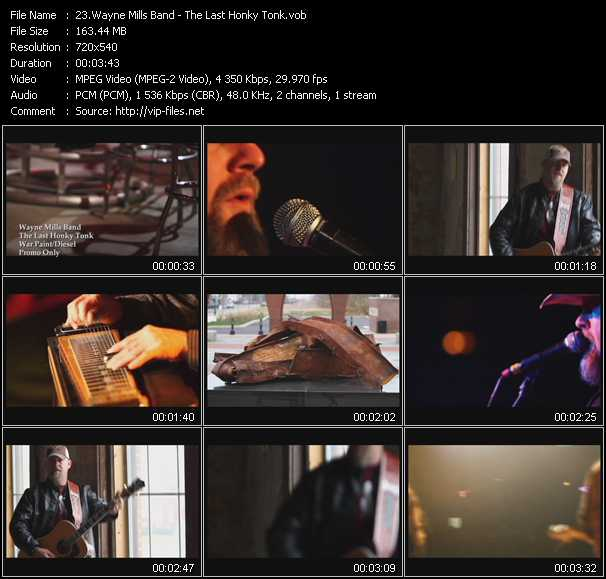 Wayne Mills Band video screenshot