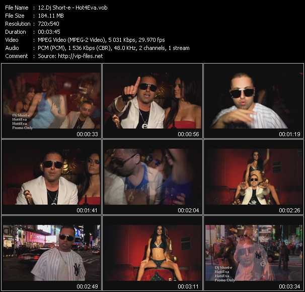 Dj Short-e video screenshot