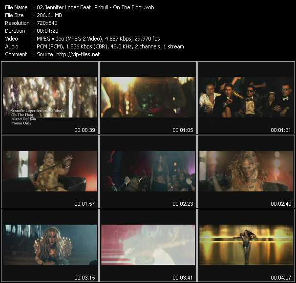 Jennifer Lopez Feat. Pitbull video screenshot
