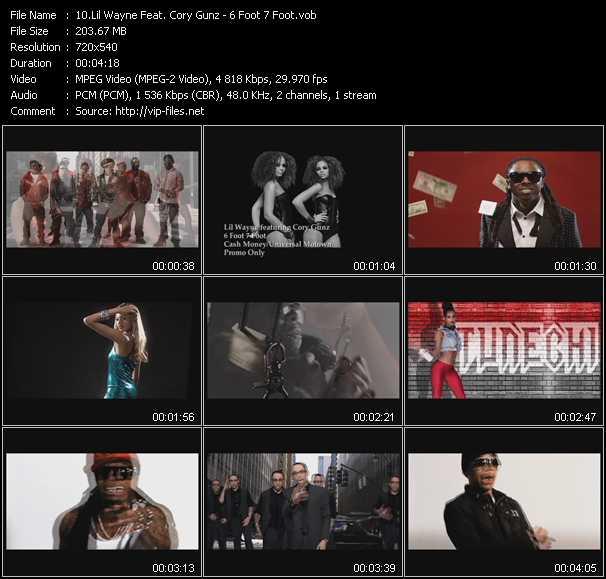 Lil' Wayne Feat. Cory Gunz video screenshot