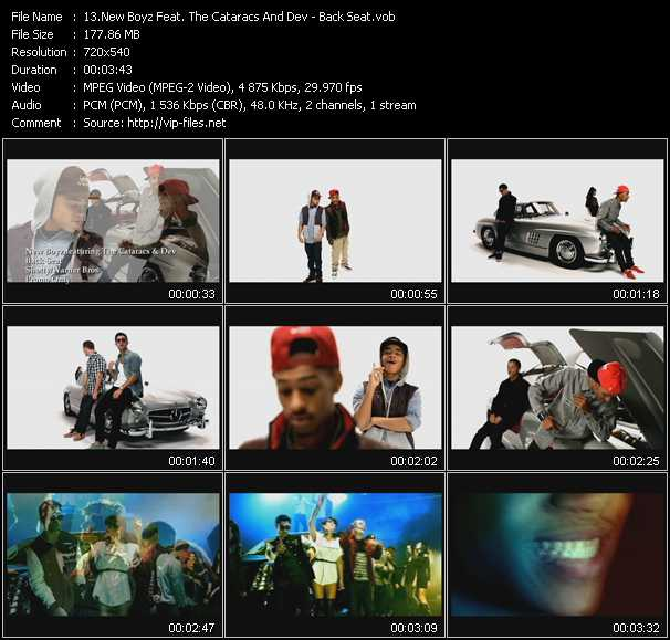 New Boyz Feat. The Cataracs And Dev video screenshot