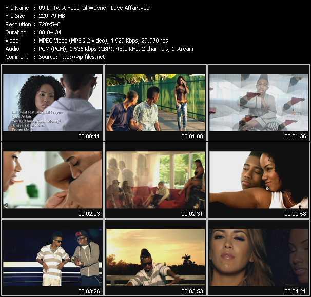 Lil' Twist Feat. Lil' Wayne video screenshot