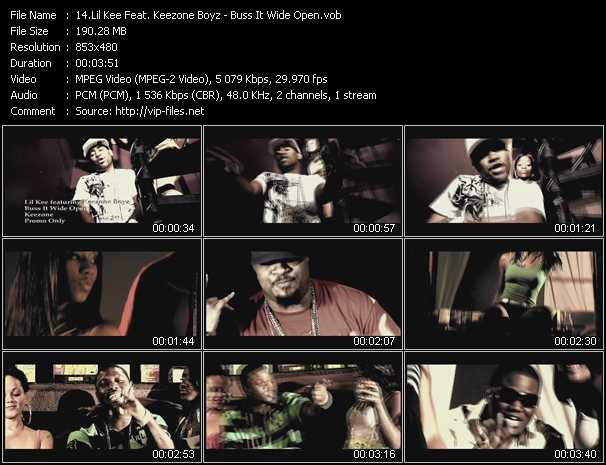 Lil' Kee Feat. Keezone Boyz video screenshot