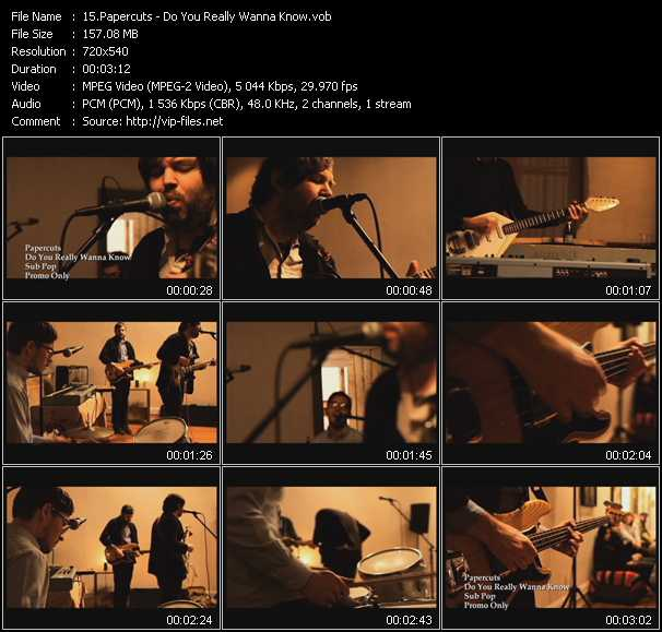Papercuts video screenshot