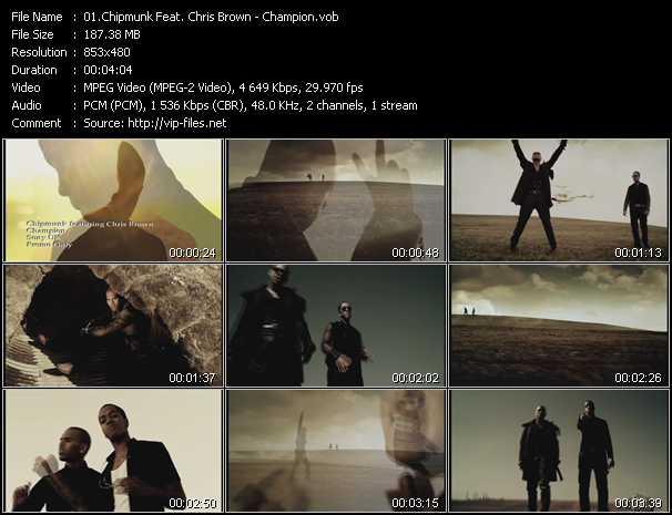 Chipmunk Feat. Chris Brown video screenshot