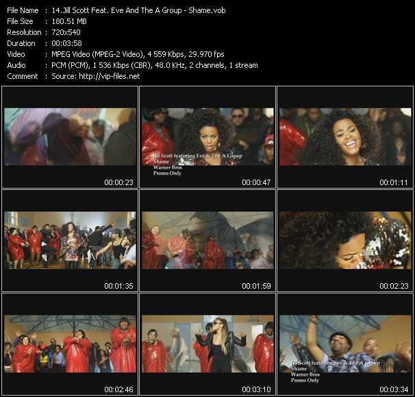 Jill Scott Feat. Eve And The A Group video screenshot