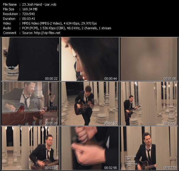 Josh Hand video screenshot
