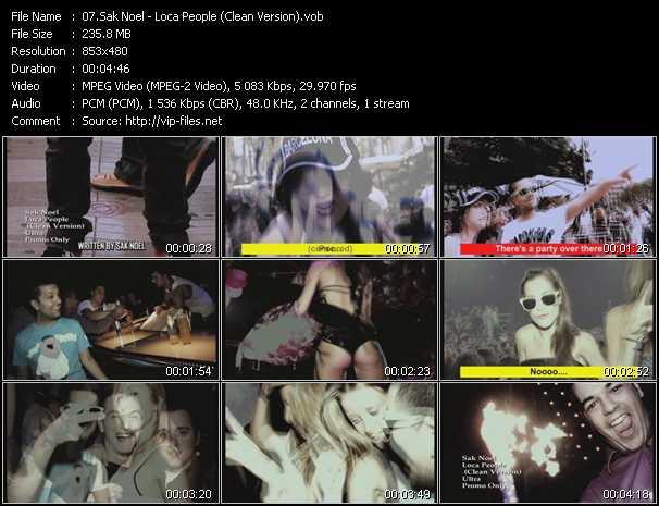 video Loca People (Clean Version) screen