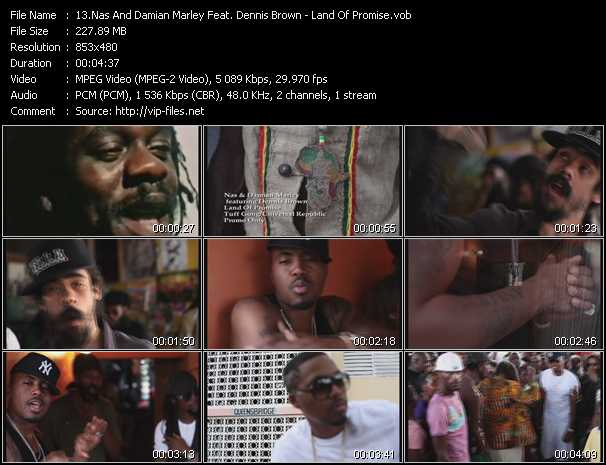 Nas And Damian Marley Feat. Dennis Brown video screenshot
