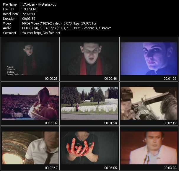 Aiden video screenshot