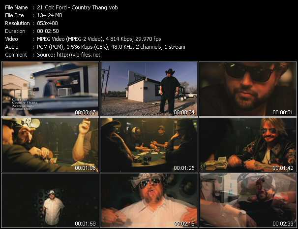 Colt Ford video screenshot