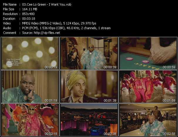 Cee Lo Green video screenshot