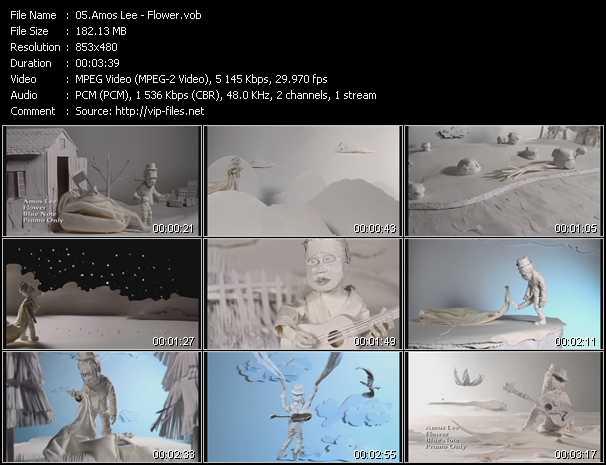 Amos Lee video screenshot