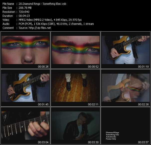 Diamond Rings video screenshot