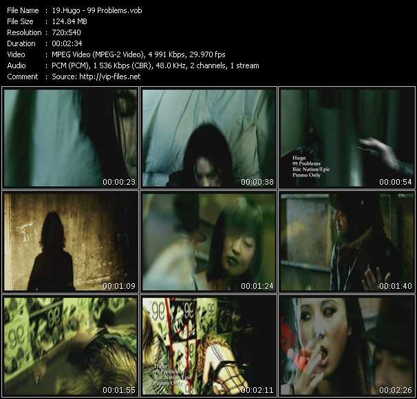 Hugo video screenshot