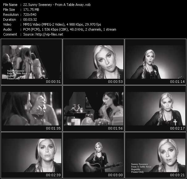 Sunny Sweeney video screenshot