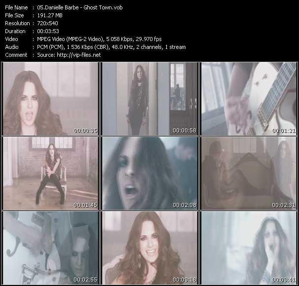Danielle Barbe video screenshot