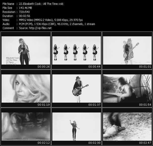 Elizabeth Cook video screenshot