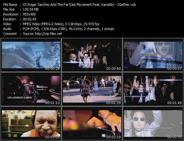 Roger Sanchez And Far East Movement Feat. Kanobby video screenshot